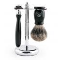 Zestaw do golenia z maszynką i pędzlem Frank Shaving