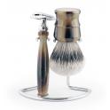 Frank Shaving zestaw z maszynką i pędzlem do golenia