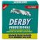 Derby Professional żyletki połówki do brzytwy fryzjerskiej
